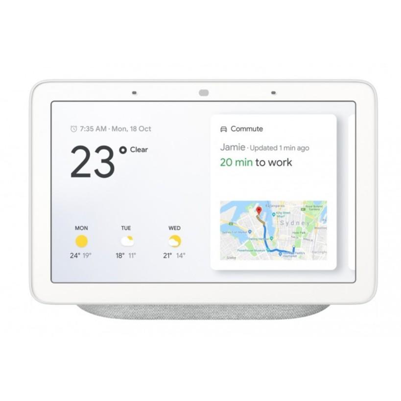 Google Nest Hub / Google Nest Hub Max - Digital Photo Frame Smart Assistant Home Hub(Chalk / Charcoal)