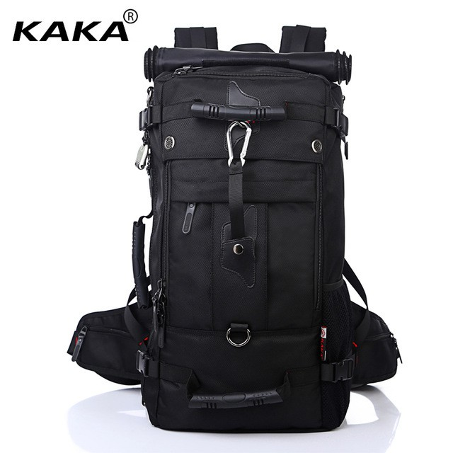 3a2e93bc4f38 KaKa Premium Extra Big 3 in 1 Luggage Travel Bag Backpack (40L & 50L)