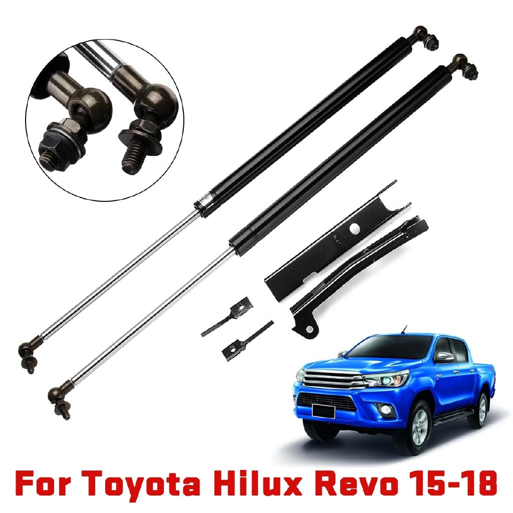 Front Bonnet Hood Lift Up Struts Shock Fit Toyota Hilux SR5 Revo 2015 2016 2017