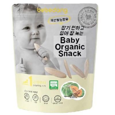 Bebedang: Baby Organic Puffed Rice Snack - Rice Bud & Pumpkin (BEST BUY)