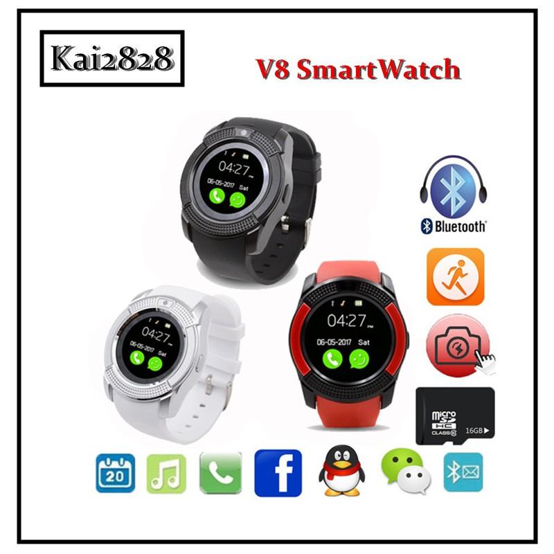 Sport V8 Smart Watch FULL HD Wristband SIM & BLUETOOTH like DZ09  GT08/ws858/Q7Q9