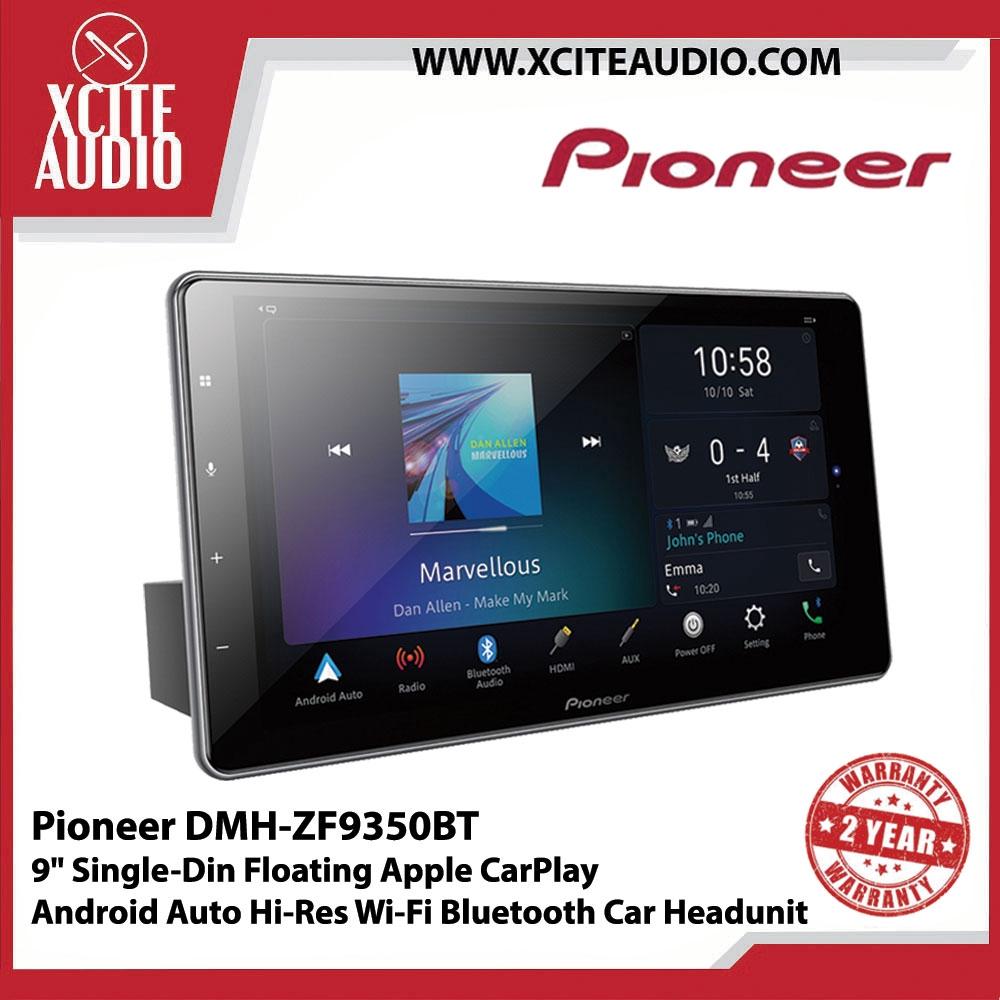 Pioneer DMH-ZF9350BT 9 Single-Din Floating Apple CarPlay