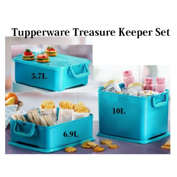 💥SALE💥 Tupperware Treasure Keeper Loose Set 5.7L/6.9L/10L