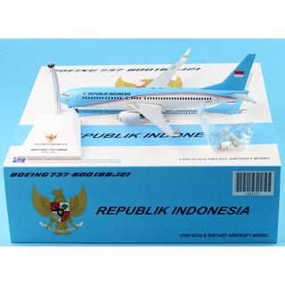 Republik Indonesia Airlines Boeing 737 A 001 Airplane 16cm Diecast Plane Model