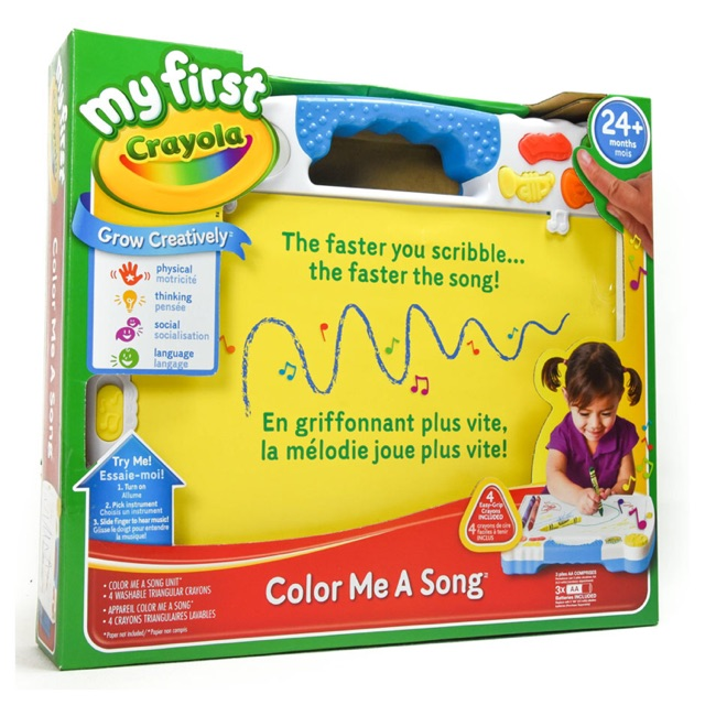 พร้อมส่ง!! My First Crayola Color Me A Song