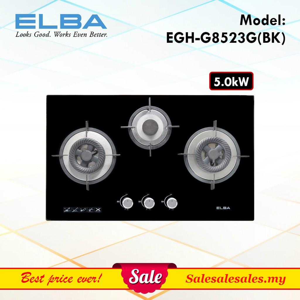 Gl Hob Gas Electric Dapur Kaca