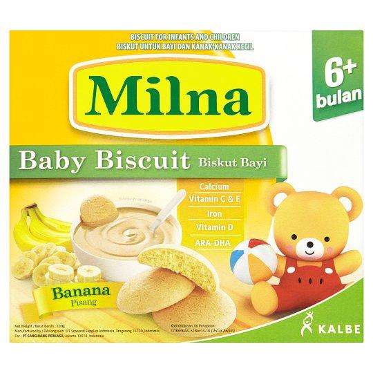 Milna Baby Biscuit Banana 130g