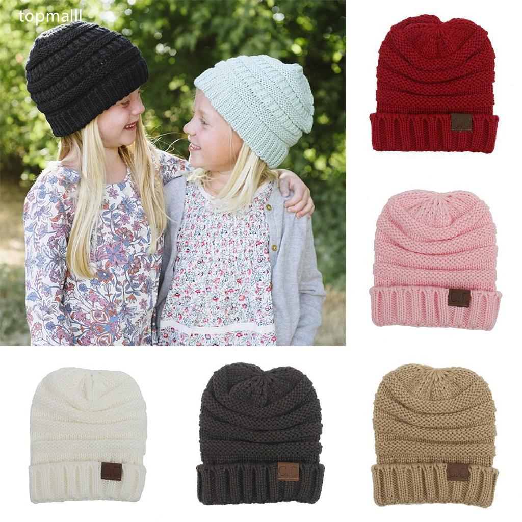 4fdb3d6c2 Casual Soft Solid Knitted Hat Winter Warm Hat Beanie Cap to