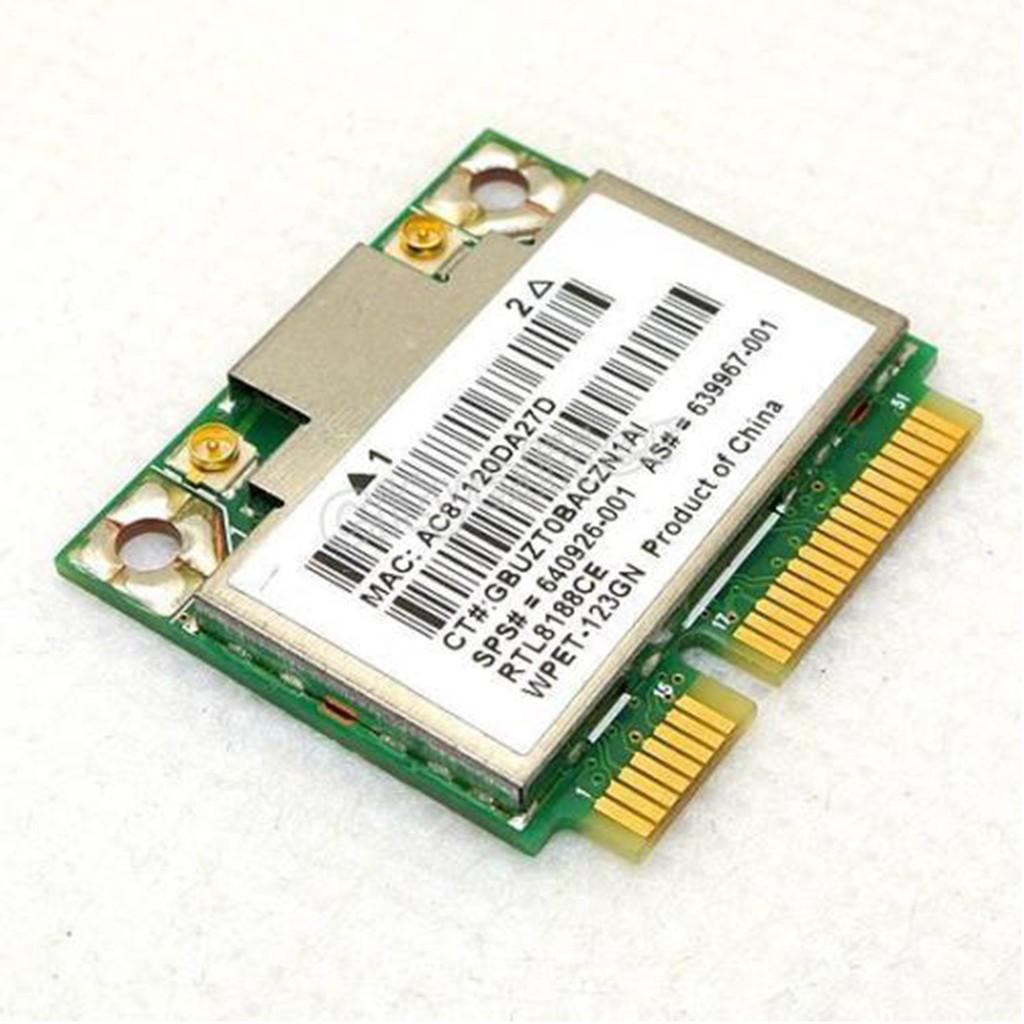 RTL8188CE Realtek for HP PCI-E 150Mbp WiFi Wireless Card SPS:639967-001