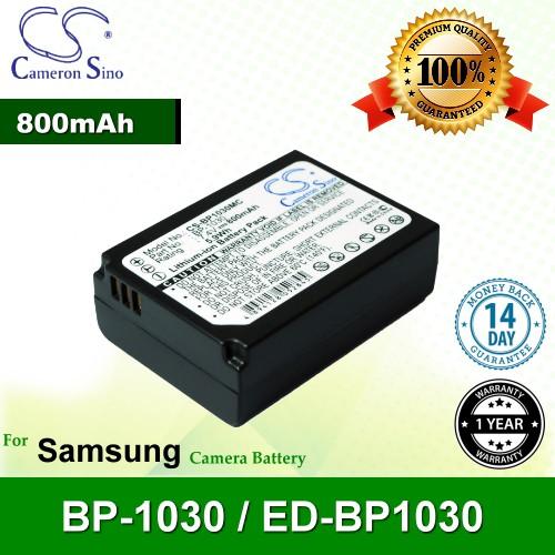 CS Camera Battery BP1030MC Samsung BP-1030 / ED-BP1030 Battery 800mah