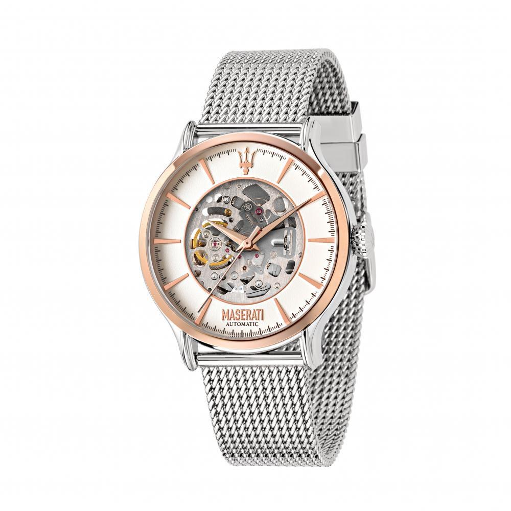 Maserati Epoca Metal Band Automatic Watches R8823118004
