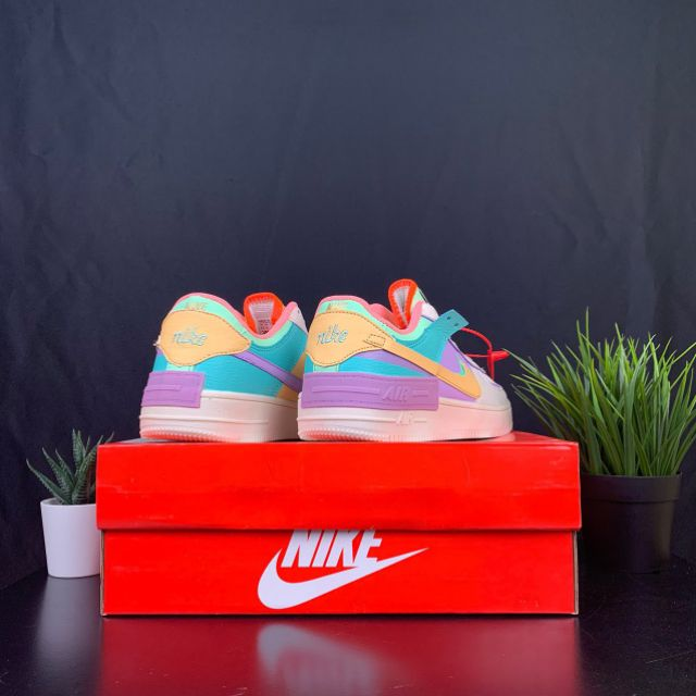 Nike Air Force 1 Shadow AF 1 Pastel Casual Women Shoes - 36-40 EURO