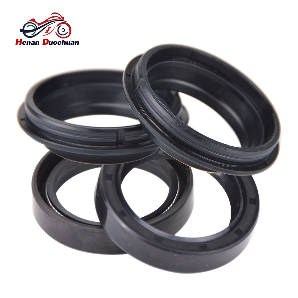 4pcs Motorcycle Oil Seal and Dust Cover for Honda CBX750 VF750 CB900 on