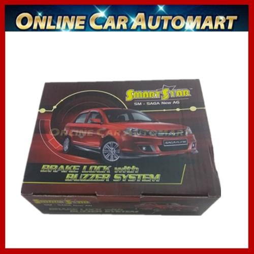 PROTON SAGA BLM/FLX SMART STAR 2 IN 1 CAR BRAKE LOCK + BUZZER