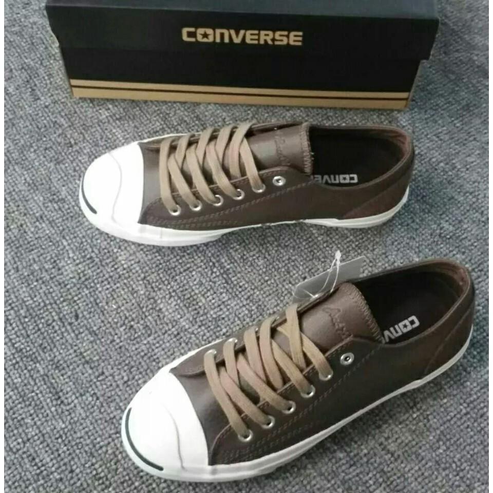 7df4e4aebb3e Converse Jack Purcell Leather (Brown)