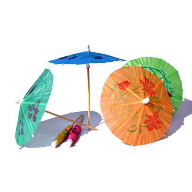 edec27defa6f Cupcake Parasol Party Fruit Topper 144pcs/pack Umbrella Picks Cake ...