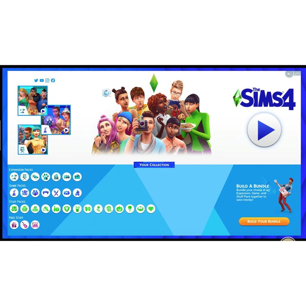 Original Online All Dlc The Sims 4 Origin All Dlc Snowy Escape Paranormal Included Origin Pc Game Shopee Malaysia