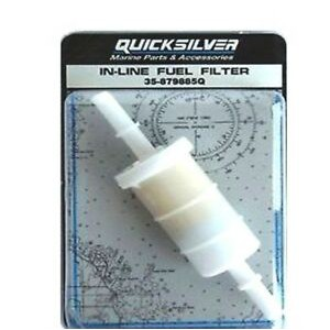 Quicksilver In-line Fuel Filter Model #35-879885Q