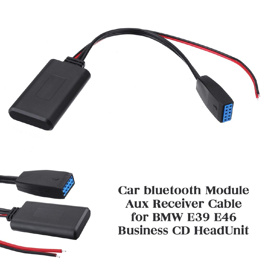 Car Audio Bluetooth 4.0 Module AUX Receiver Cable Adapter