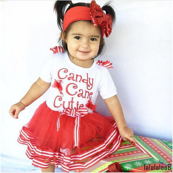 8bd9bcb6d0ccb .LL-Baby girl Christmas Candy Cane Cutie Xmas Tulle Party Tutu Dress