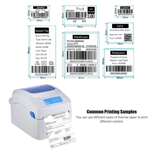 Gprinter Gp 1324d Thermal Printer 1d 2d Qr Barcode Label Fast Printing Shopee Lazada Congsingment Shopee Malaysia