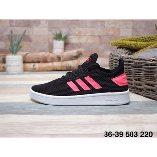 nouveau style 86ca5 25d2a Adidas STAN SMITH Smith Mesh Ventilated Leisure Joker Shoes WOMEN'S SHOES  BLACK RED