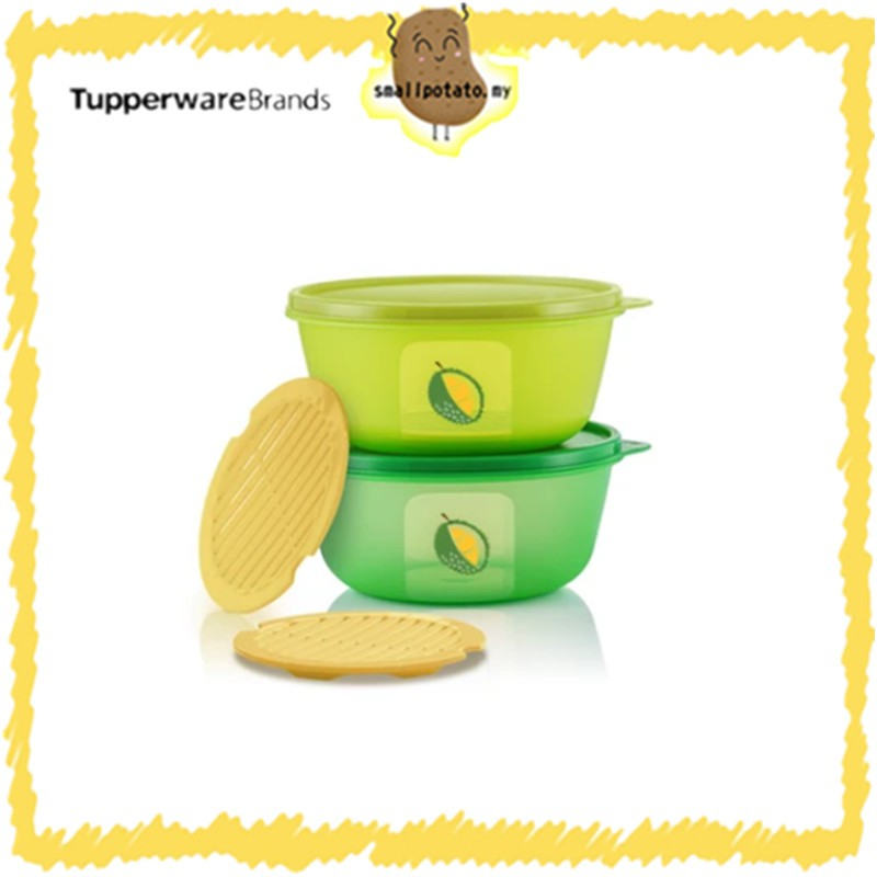 [ READY STOCK ] Tupperware Ultimate Durian Keeper Set / NEW ARRIVAL STOCK