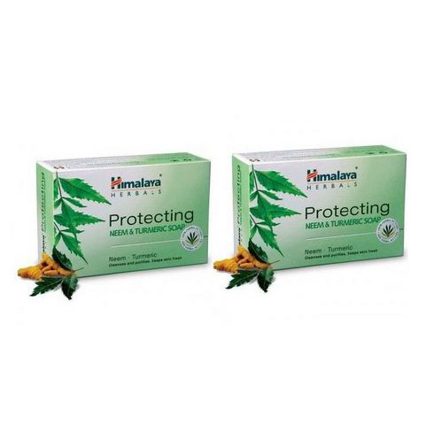 HIMALAYA PROTECTING NEEM&TUMERIC SOAP 75GX2