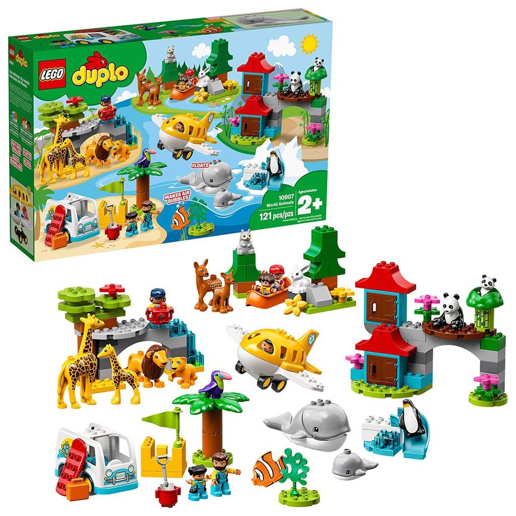 Lego Duplo Town World Animals 10907 Building Bricks Toy