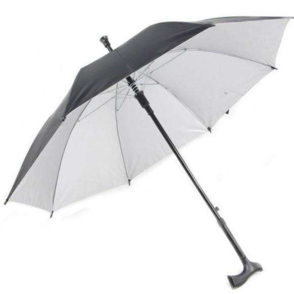Crutch Umbrella (55cm) - 2 in 1