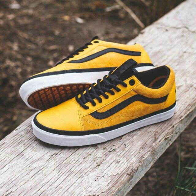 5004f8f0967b Ready Stock 100%original VANS VAULT THE NORTH FACE OLD SKOOL MTE DX Yellow√