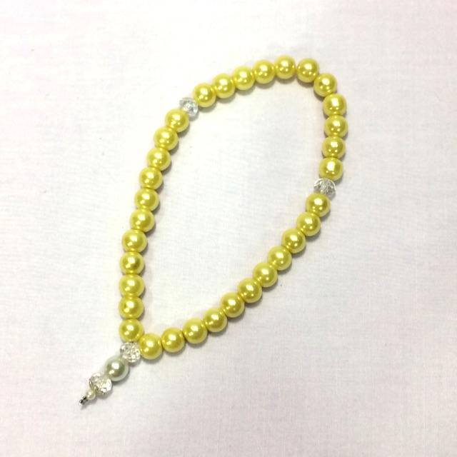 Tasbih Mutiara (yellow colour)