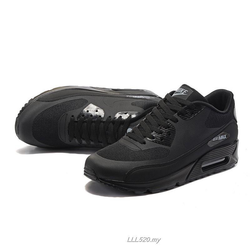 MensWomens Nike Air Max 90 Ultra 2.0 Essential Triple Black size 36 44