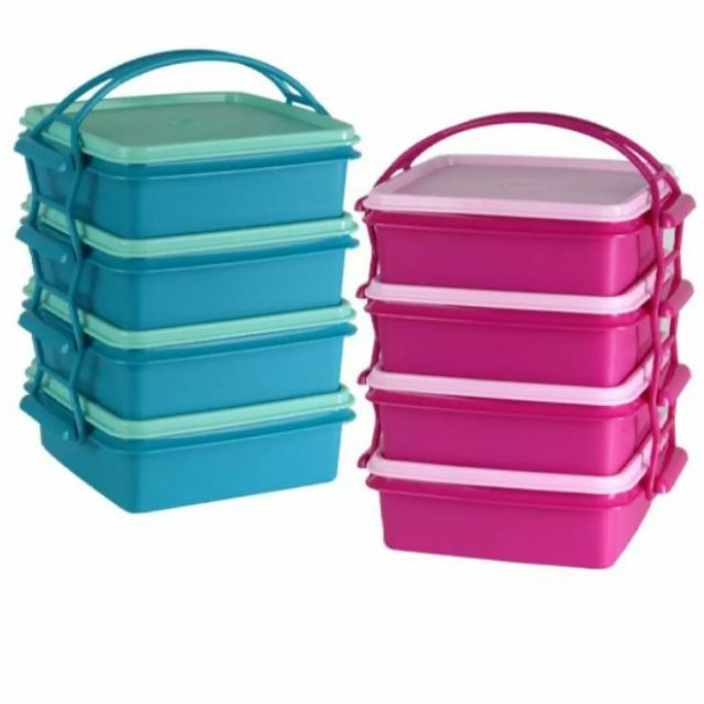Tupperware Small Goody Box with Cariollier 790ml