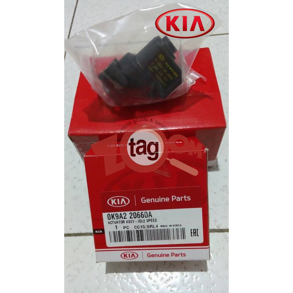 Genuine Kia Idle Speed Actuator for Kia Spectra/Carens/Ria/Spehia/Sportage