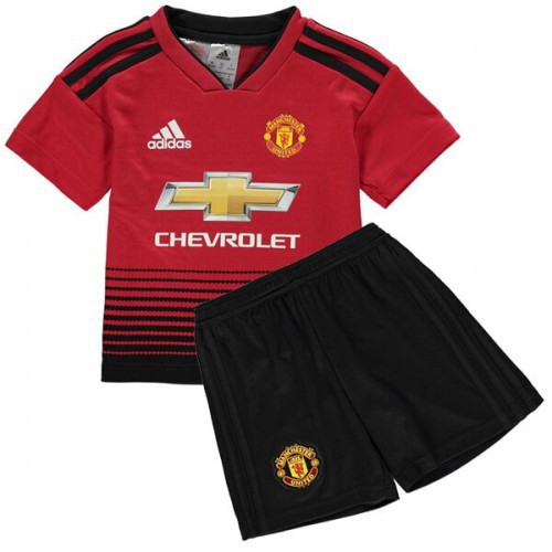 quality design c1733 e2c56 Youth 2018-2019 Manchester United Home Uniform kids soccer jersey