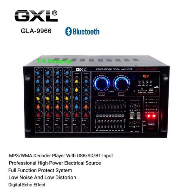 GXL เพาเวอร์แอมป์ ขยายเสียง  รุ่น GLA