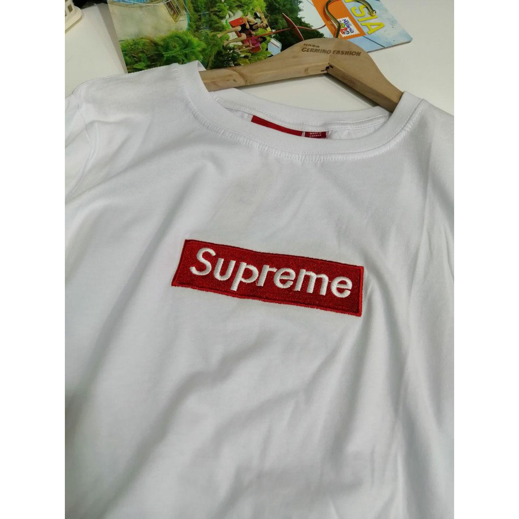 SUPREME box Logo  Premium Grade T-Shirt (WHITE Colour)