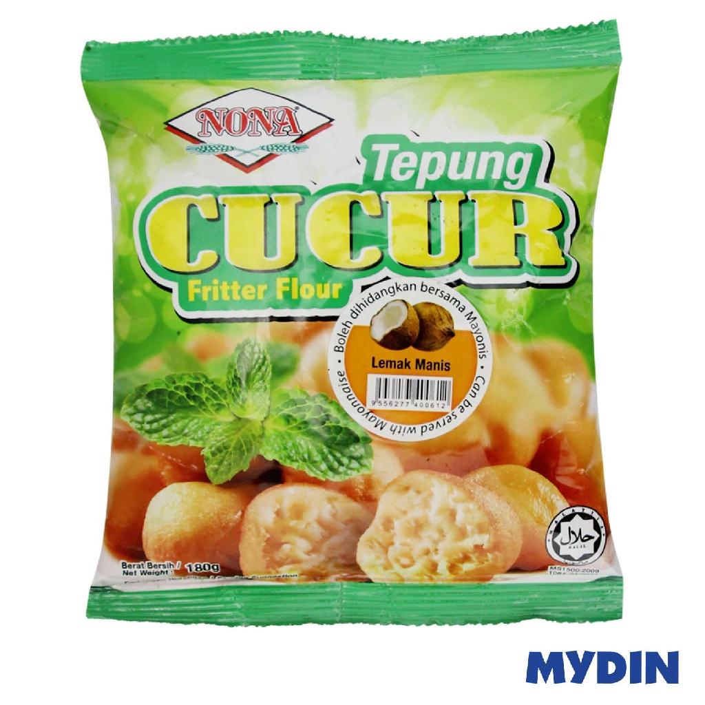 Nona Cucur Fritter Flour - Lemak Manis (180g)
