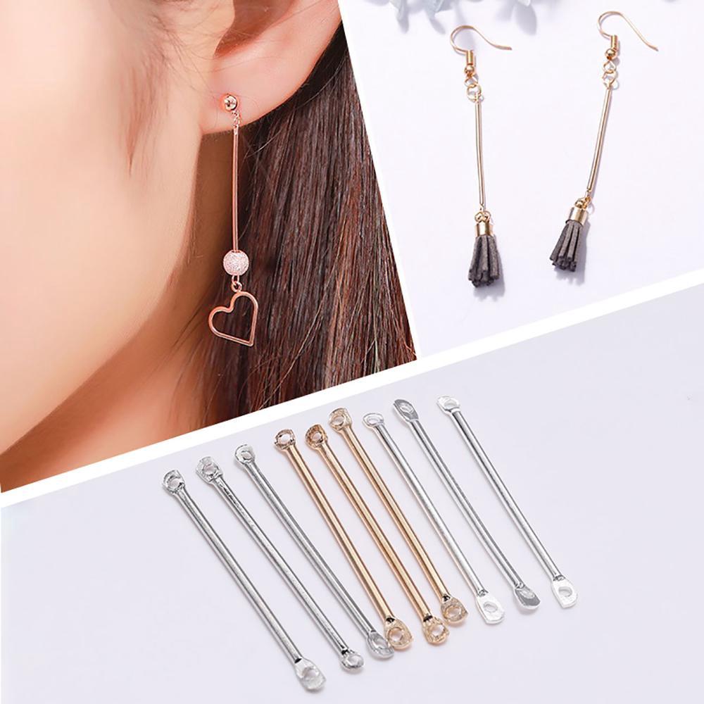 10Pcs 925 Sterling Silver Earring Hooks Findings Supplies French Earring Hook with Ear Backs Pierced Earrings for Women Earrings DIY Making