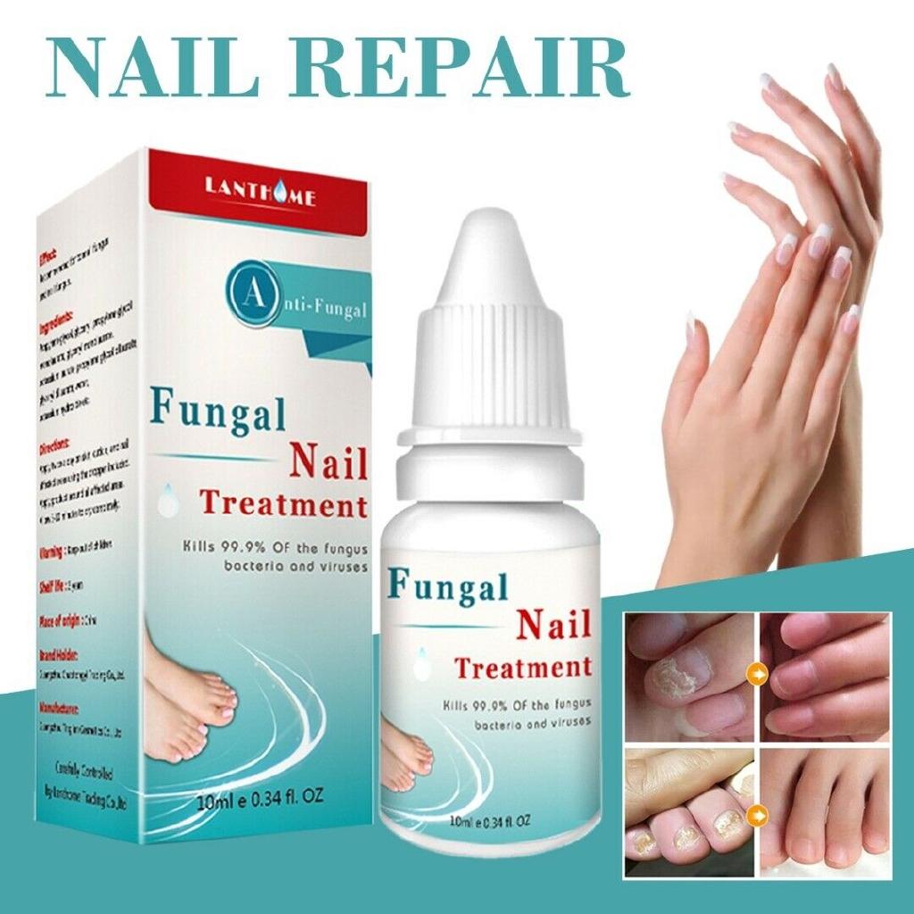 10ml Nail Polish Onychomycosis Moisturizing Toe Nail Repair Liquid Treatment
