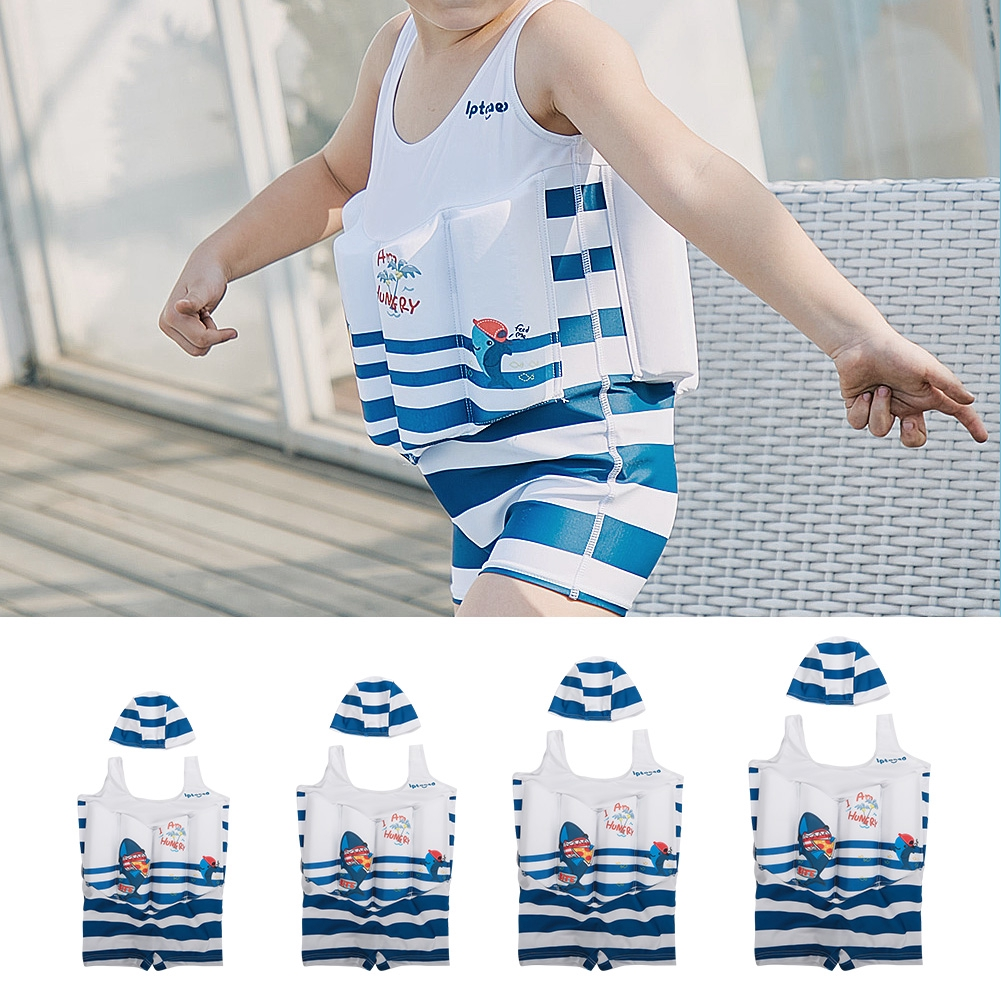 0910a562d53b ProductImage. ProductImage. Lovely Baby Boys Buoyancy Swimsuits Kids Beach  Swimwear for Learning Swimming