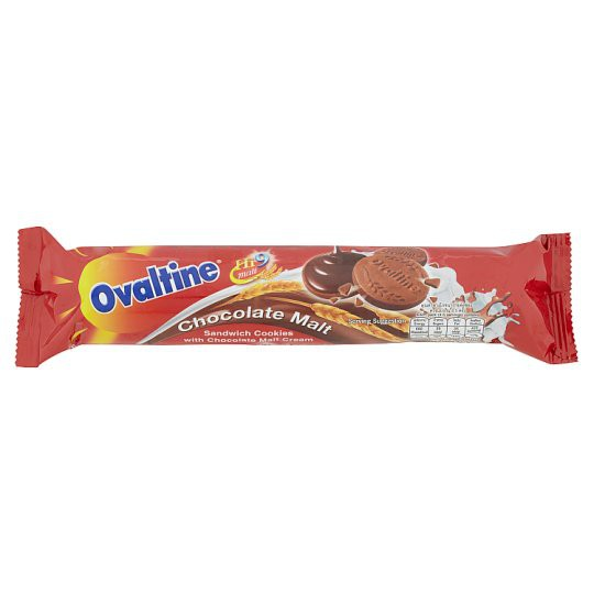 Ovaltine Chocolate Malt Sandwich Cookies 135g