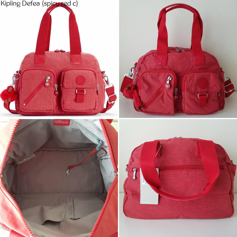 bff8c15a53 BNWT Authentic Kipling Defea Handbag Shoulder Crossbody Bag | Shopee  Malaysia