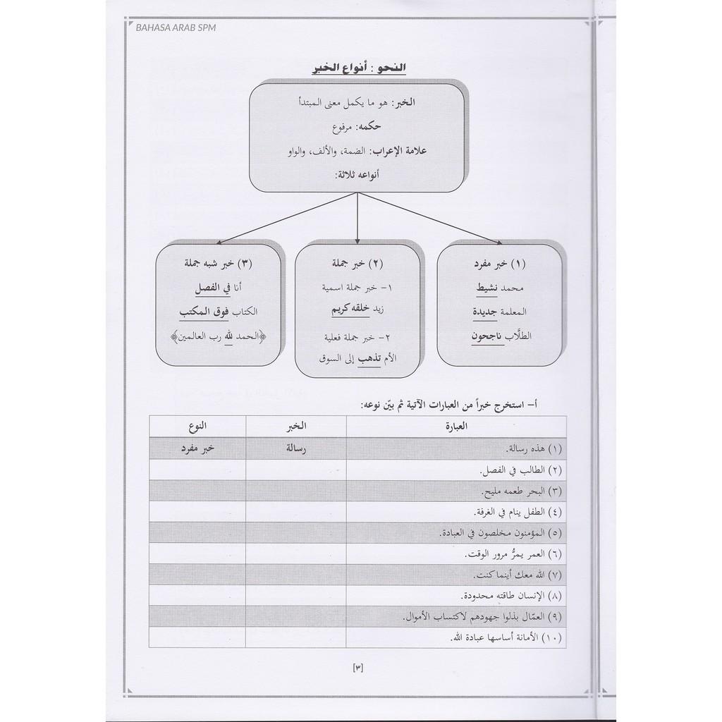 Edisi 2020 Buku Nota Padat Dan Latihan Topikal Skor A Bahasa Arab Spm Shopee Malaysia