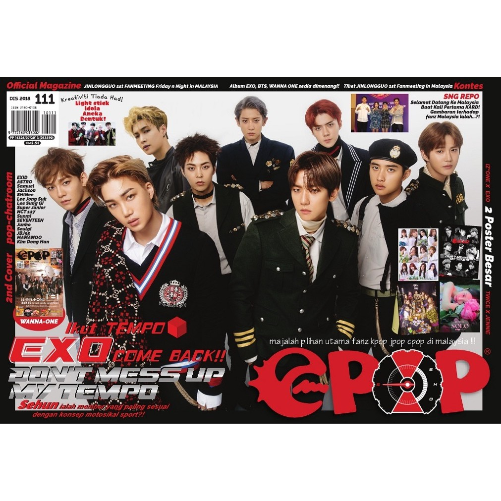 epop malay 111 2018-12 Ikut Tempo EXO Come Back Dont Mess Up My Tempo
