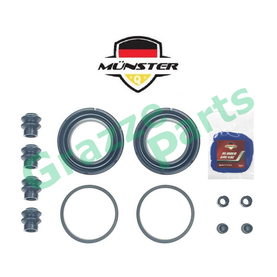 Münster Disc Brake Caliper Repair Kit (Full Set) Front for 4605A279 - 51.5mm Mitsubishi Attrage