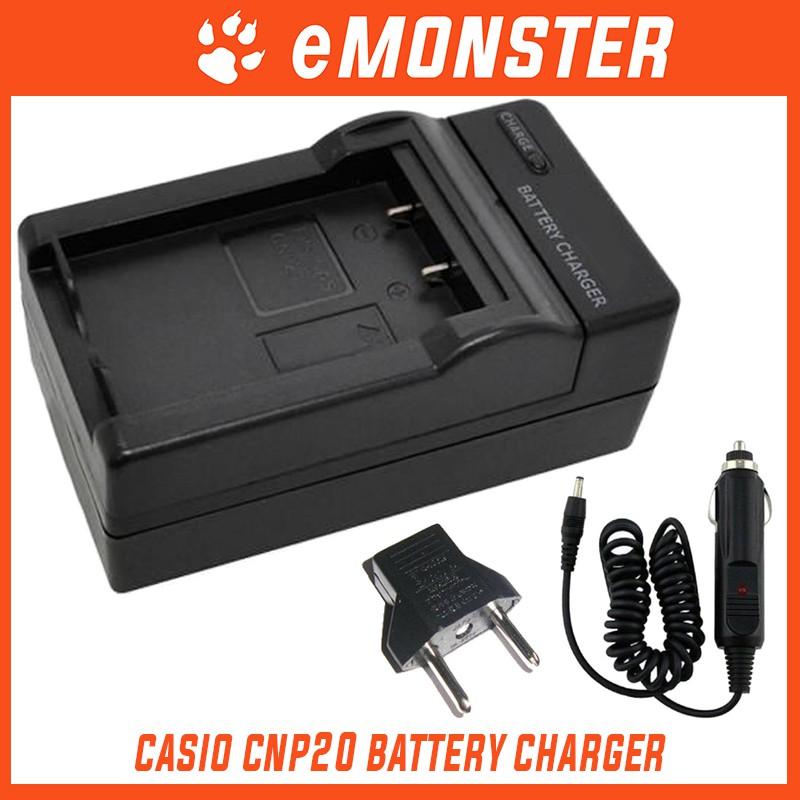 Ladegerät für Casio Exilim EX Z5 Z60 S600 Z3 Z4 S500