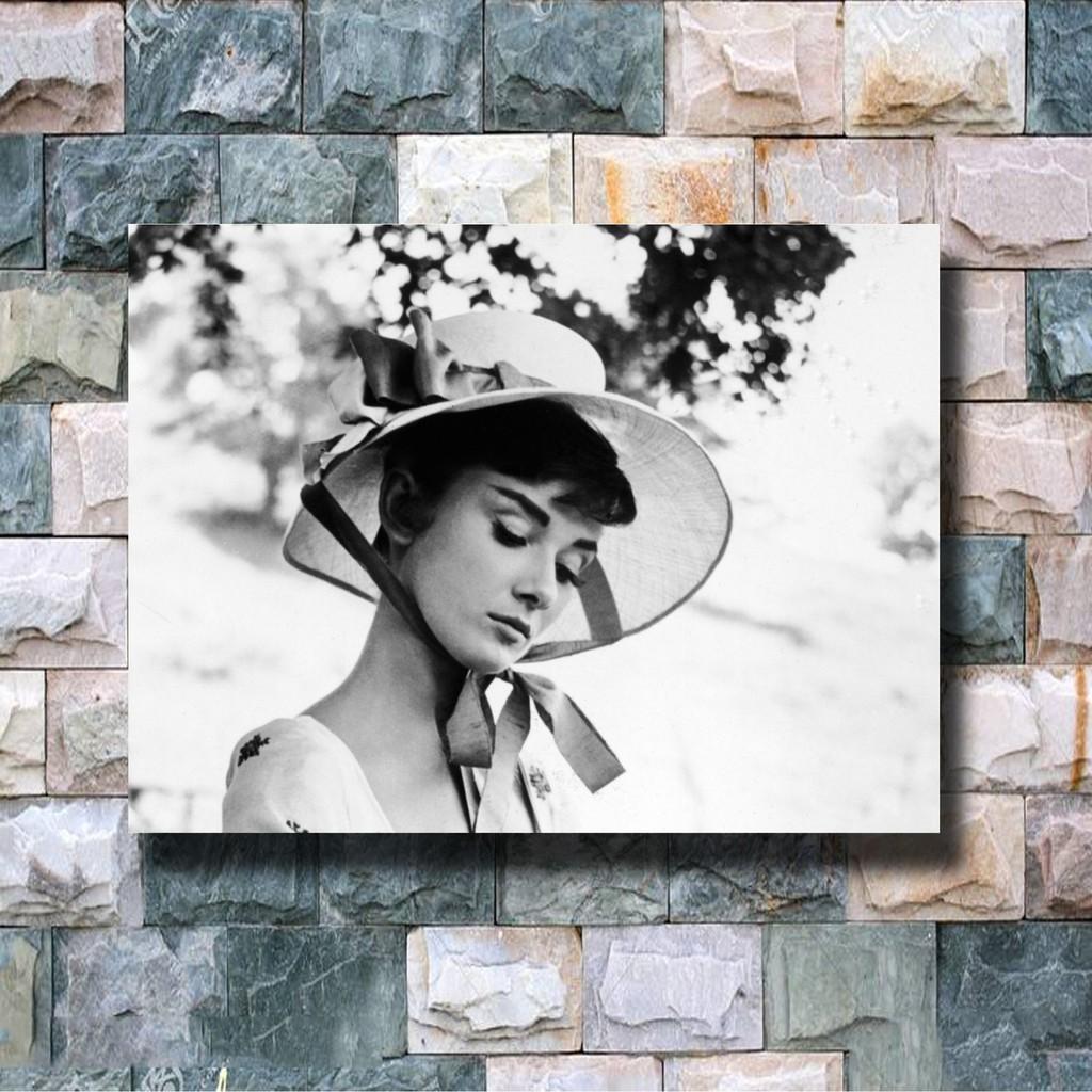 Vintage Retro Audrey Hepburn Large Paper Poster Home Wall Pub Bar Cafe Art Decor