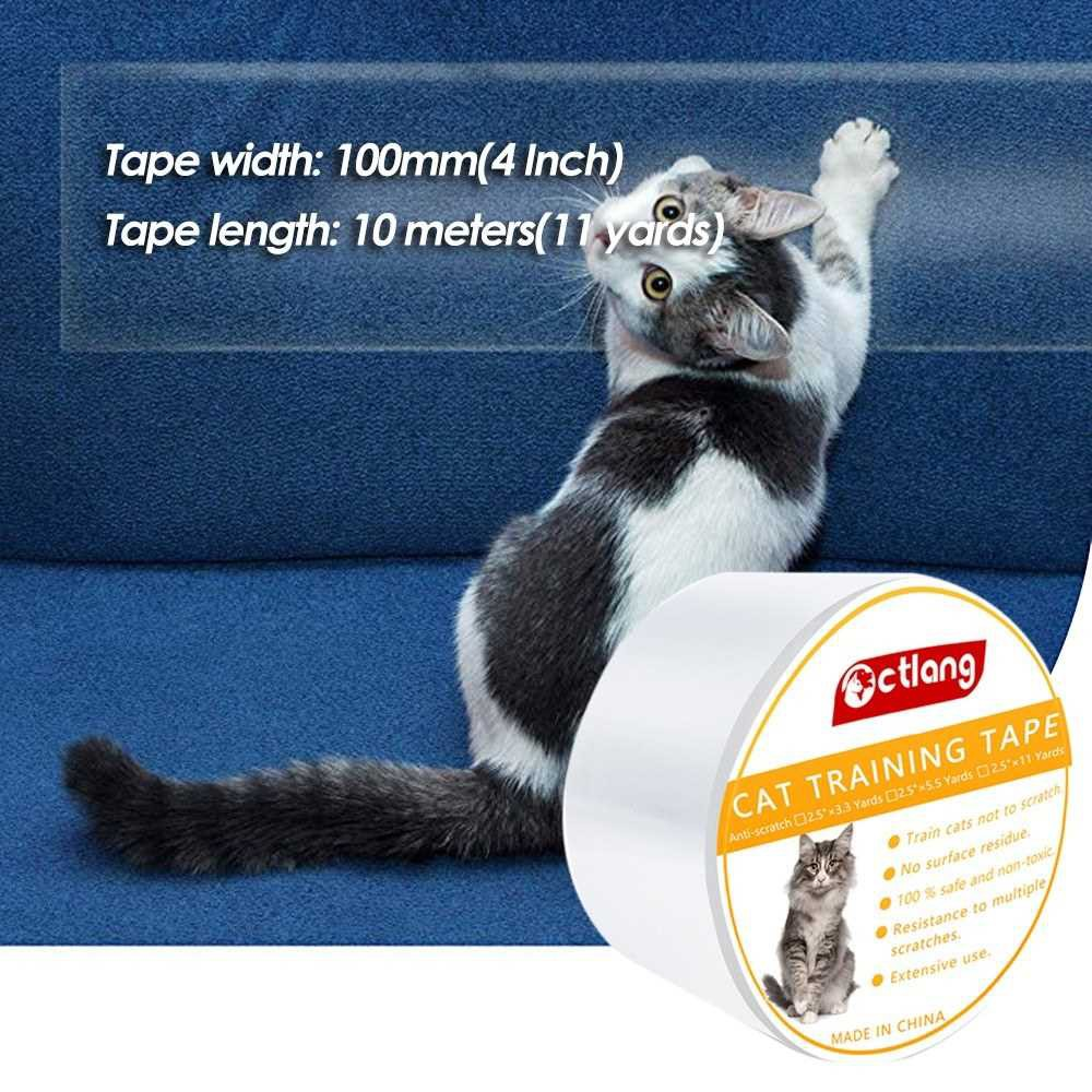 Anti-Scratch Cat Training Tape Furniture Sofa Protection Adhesive Tape Pet Accessories Stops Cats from Scratching Furni